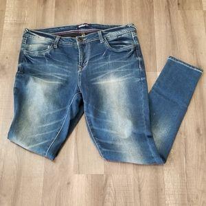 Wallflower Blue Jeans